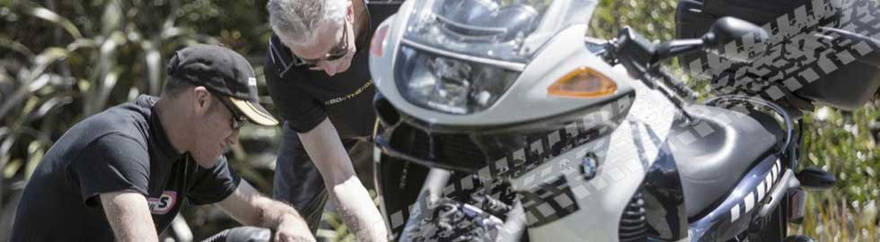 Bike maintainance at Riderqual